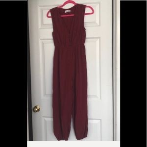 NWT sleeveless jumpsuit